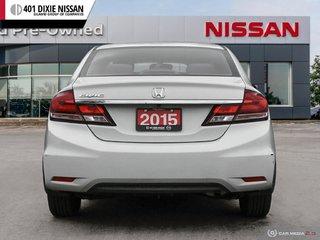 2015 Honda Civic Sedan LX CVT in Mississauga, Ontario - 5 - w320h240px