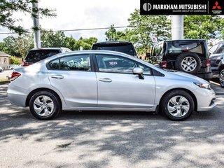 2015 Honda Civic Sedan LX CVT in Markham, Ontario - 3 - w320h240px