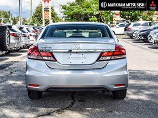 2015 Honda Civic Sedan LX CVT in Markham, Ontario - 5 - w320h240px