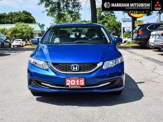 2015 Honda Civic Sedan LX CVT in Markham, Ontario - 2 - w320h240px