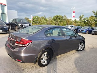 2015 Honda Civic Coupe LX CVT in Mississauga, Ontario - 6 - w320h240px