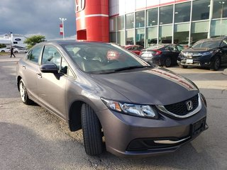 2015 Honda Civic Coupe LX CVT in Mississauga, Ontario - 3 - w320h240px