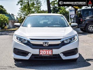 2016 Honda Civic Sedan LX CVT in Markham, Ontario - 2 - w320h240px