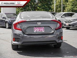 2016 Honda Civic Sedan LX CVT in Oakville, Ontario - 5 - w320h240px