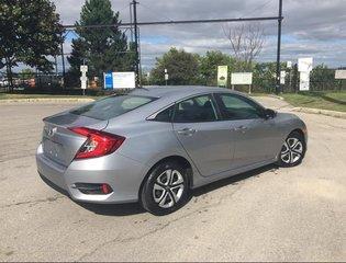2018 Honda Civic Sedan LX CVT in Mississauga, Ontario - 5 - w320h240px