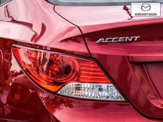 Hyundai Accent GL   No Accidents   A/C   Cruise   Aux 2012
