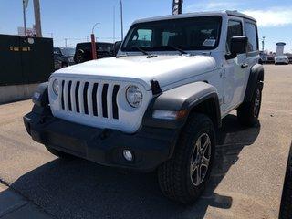 2018 Jeep Wrangler Jl Sport in Regina, Saskatchewan - 2 - w320h240px