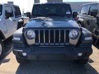 2018 Jeep Wrangler Jl Unlimited Sport in Regina, Saskatchewan - 2 - w320h240px