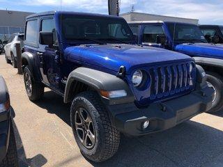 2018 Jeep Wrangler Jl Sport in Regina, Saskatchewan - 3 - w320h240px