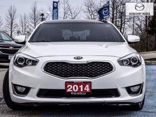 Kia Cadenza New Tires   Leather   Navigation   Bluetooth 2014