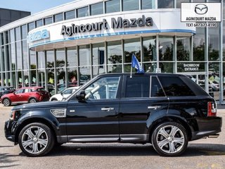 2010 Land Rover Range Rover Sport Supercharged   Lthr   Heated Sts   Navi   Sunroof