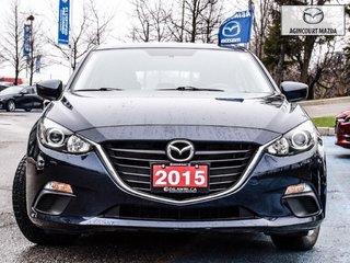 Mazda Mazda3 Sport GS   No Accidents   Rear Camera   Bluetooth 2015