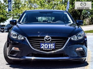 2015  Mazda3 Sport GX   Push Start   Bluetooth   Keyless   A/C