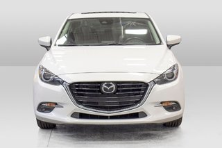 2018  Mazda3 GT GPS CUIR TOIT OUVRANT SIEGES CHAUFFANTS