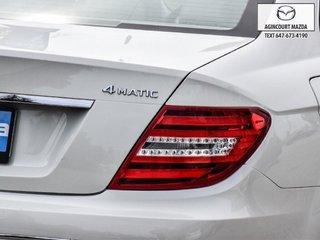 2012 Mercedes-Benz C250 4MATIC   Sunroof   Navi   Lthr   Htd Sts   Alloys