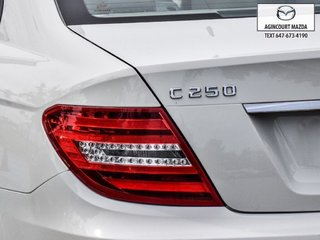 Mercedes-Benz C250 4MATIC   Sunroof   Navi   Lthr   Htd Sts   Alloys 2012