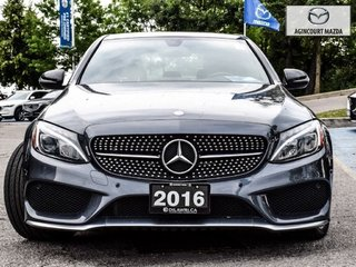 2016 Mercedes-Benz C450 AMG Pano Roof   Navi   Burmester   Rear Camera