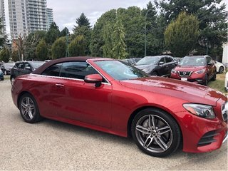 2018 Mercedes-Benz E400 4MATIC Cabriolet in Vancouver, British Columbia - 4 - w320h240px