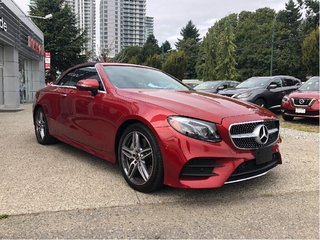 2018 Mercedes-Benz E400 4MATIC Cabriolet in Vancouver, British Columbia - 3 - w320h240px