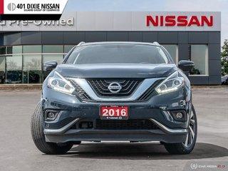 2016 Nissan Murano Platinum AWD CVT in Mississauga, Ontario - 2 - w320h240px