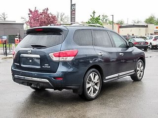 2016 Nissan Pathfinder Platinum V6 4x4 at in Mississauga, Ontario - 5 - w320h240px