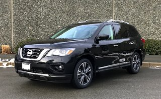 2018 Nissan Pathfinder Platinum V6 4x4 at in North Vancouver, British Columbia - 2 - w320h240px