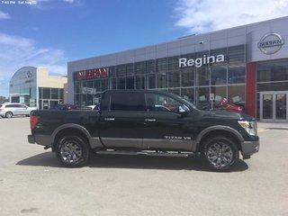 2019 Nissan Titan Crew Cab Platinum 4X4 in Regina, Saskatchewan - 3 - w320h240px