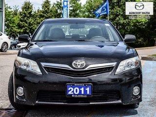Toyota Camry Hybrid Sunroof   Leather   Navi   Htd Sts   Rear Camera 2011