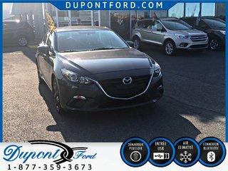 Mazda 3 GX-SKY - JAMAIS ACCIDENTÉ - AIR - AUTOMATIQUE 2015