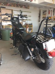2009 Harley-Davidson XL 1200 SPORTSTER CUSTOM NIGHTSTER VENTE ACCOMODATION