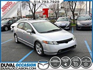 Honda Civic LX + CLIMATISATION + ***VEHICULE VENDU TEL QUEL*** 2008