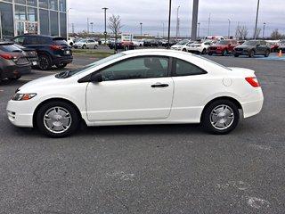 2011 Honda Civic DX-G + CLIMATISATION + JAMAIS ACCIDENTÉ