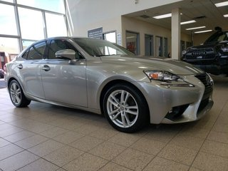 Lexus IS 250 AWD (4X4) CUIR BLUETOOTH TOIT OUVRANT 2015