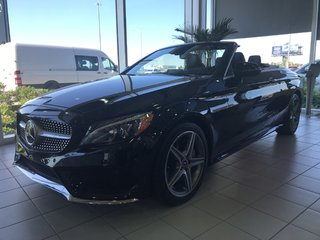 2018 Mercedes-Benz C300 4matic Cabriolet DEMO RABAIS inclus de 10.334$