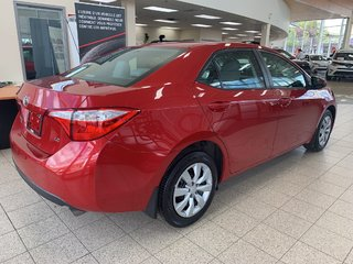 Toyota Corolla LE BLUETOOTH CAMERA DE RECUL 2014
