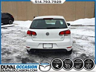 Volkswagen Golf 2.5L Trendline + CLIMATISATION + SIÈGES CHAUFFANTS 2012