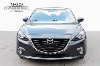 2016  Mazda3 GT  +BLUETOOTH+CRUISE+CAMERA DE RECUL