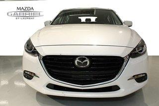 Mazda3 SPORT GT + CUIR +  TOIT + AMAIS ACCIDENTE + SEULEMENT 10 900KM 2017
