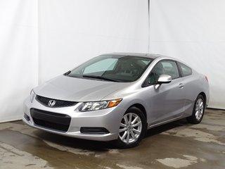2012 Honda Civic Coupe  EX AUTOMATIQUE TOITOUV MAG REGVIT