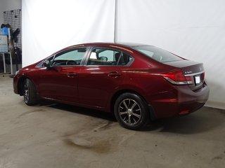 Honda Civic LX +A/C+CAMÉRA RECUL+CRUISE CTRL+15369KM!!!+++ 2015