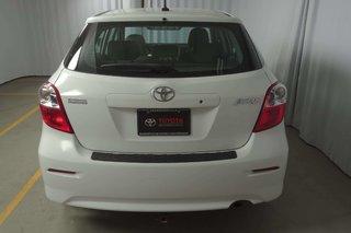 2012 Toyota Matrix CLIMATISEUR* CRUISE* SIÈGE CHAUFF. CONDUCTEUR*