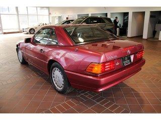 1990 Mercedes-Benz 560 Series 500SL V8, Siège mémoire