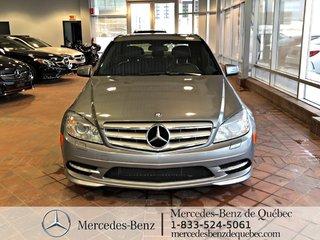 2011 Mercedes-Benz C-Class C300 4MATIC, toit ouvrant, clim 2 zones, bi-xenon