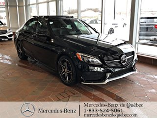 2016 Mercedes-Benz C-Class C450 4MATIC, distronic, toit pano, cam recul