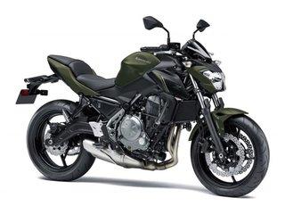 2018 Kawasaki Z650 ABS -
