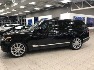 2016 Land Rover Range Rover SC  LWB VENDU/SOLD