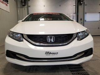 Honda Civic Sedan LX bas kilo bluetooth transmission automatique A/C 2014