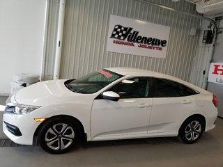 2017 Honda Civic Sedan LX full automatique bas kilo
