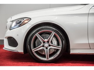 2015 Mercedes-Benz C-Class C300 4MATIC **CUIR AMG ROUGE**