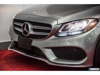 2015 Mercedes-Benz C-Class C300 4MATIC **CUIR ROUGE AMG**